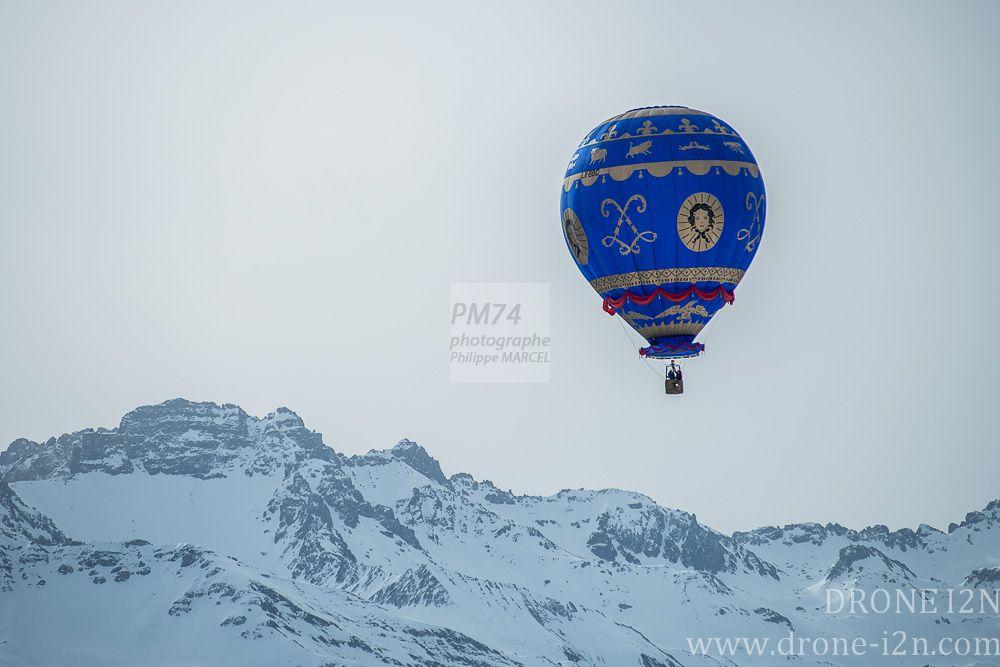 Jeux aériens Les Saisies 2014 Montgolfières